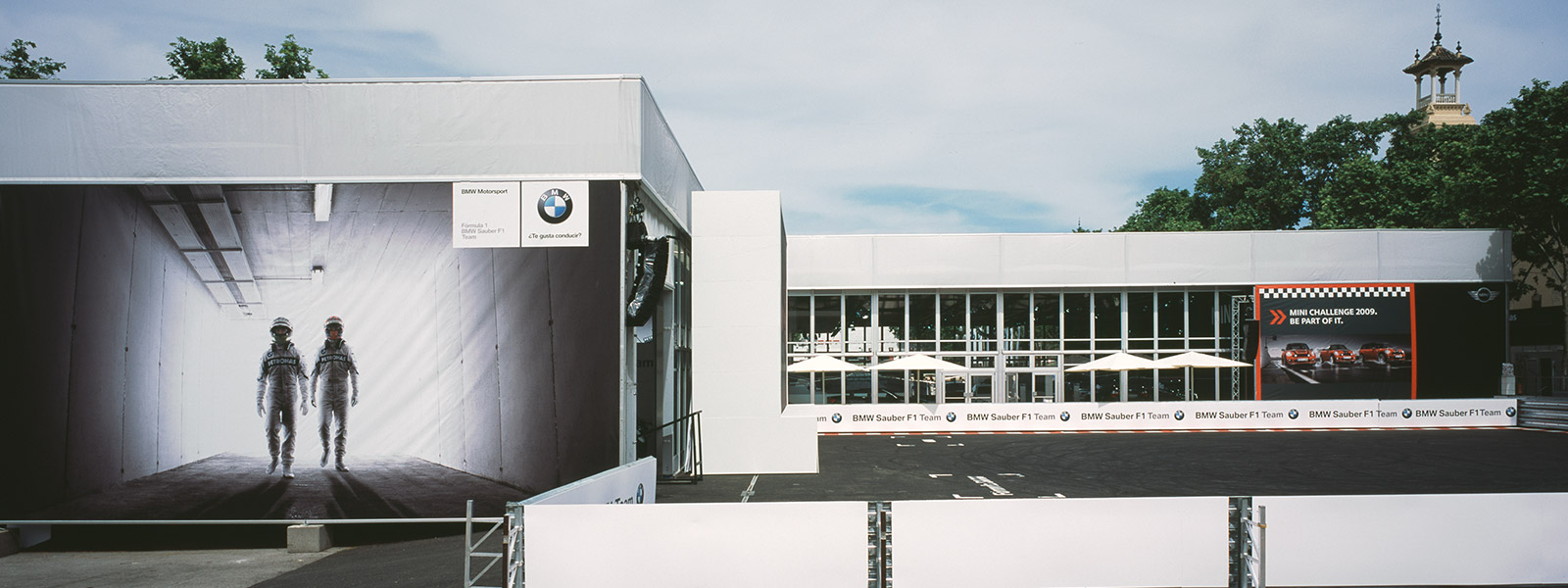 Eventhalle SOLUTION - Showhalle mit alea - BMW