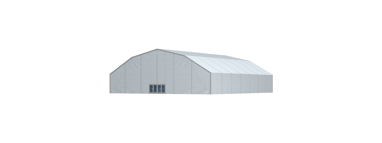 Rendering T-Tents Polygonhalle